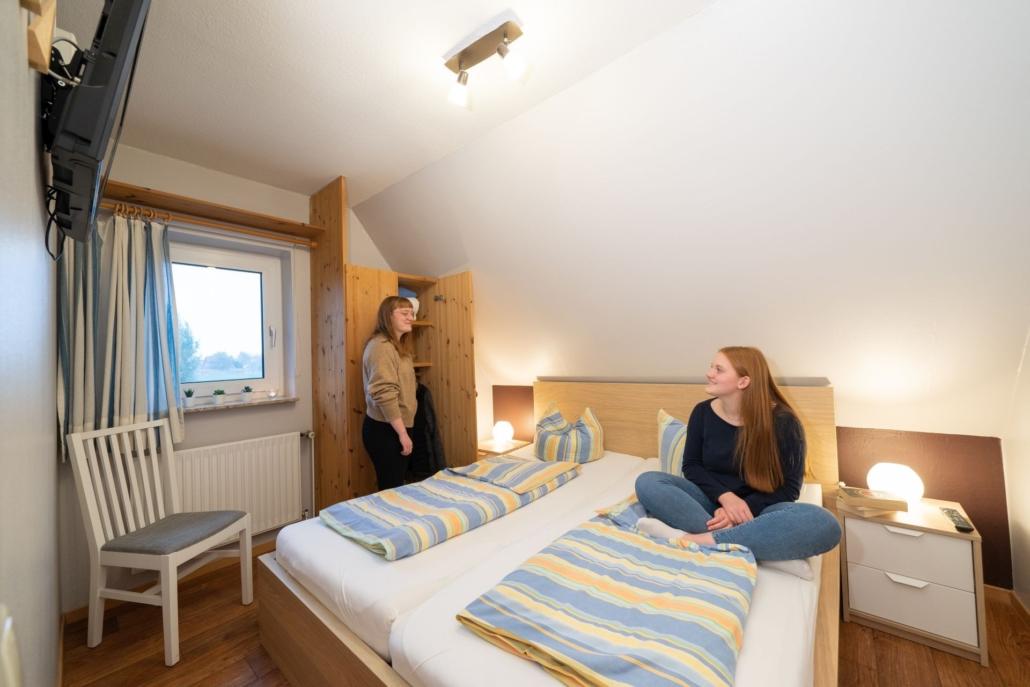 Ferienwohnung Kiebitz III Schlafzimmer