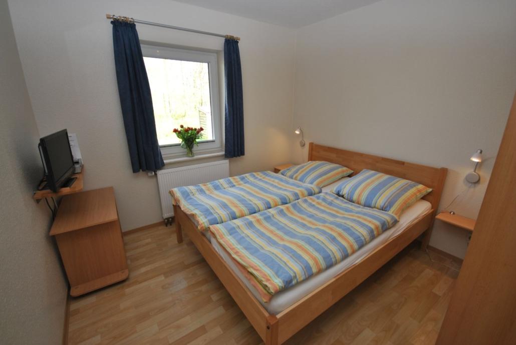 Ferienhaus_Strandmuschel_Schlafzimmer