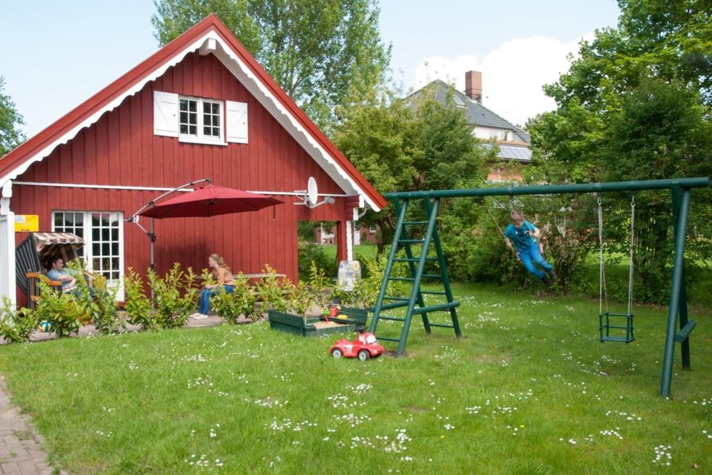 Otterndorf_Ferienhaus_Seerose_Garten