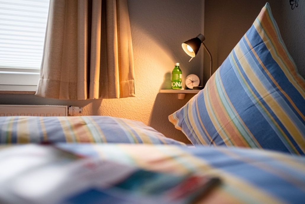 Ferienhaus Seebaer Schlafzimmer