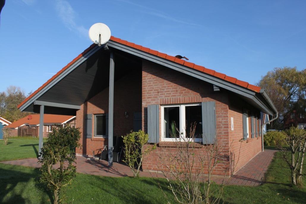 Ferienhaus Seebaer Terrasse