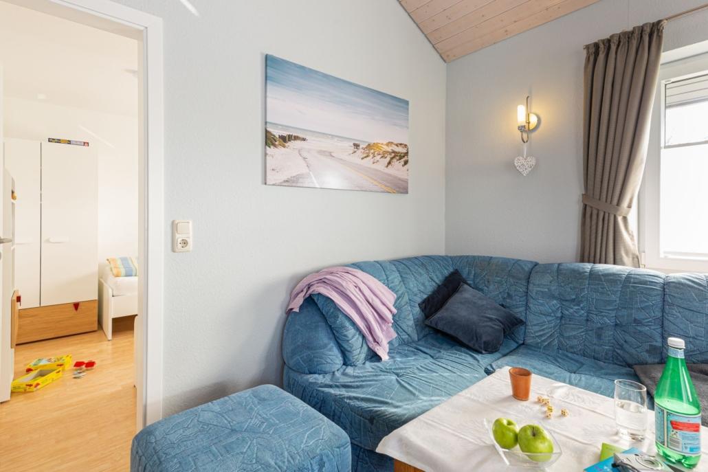 Ferienhaus Seebaer Wohnzimmer