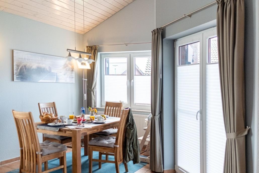 Ferienhaus Seebaer Zugang Terrasse